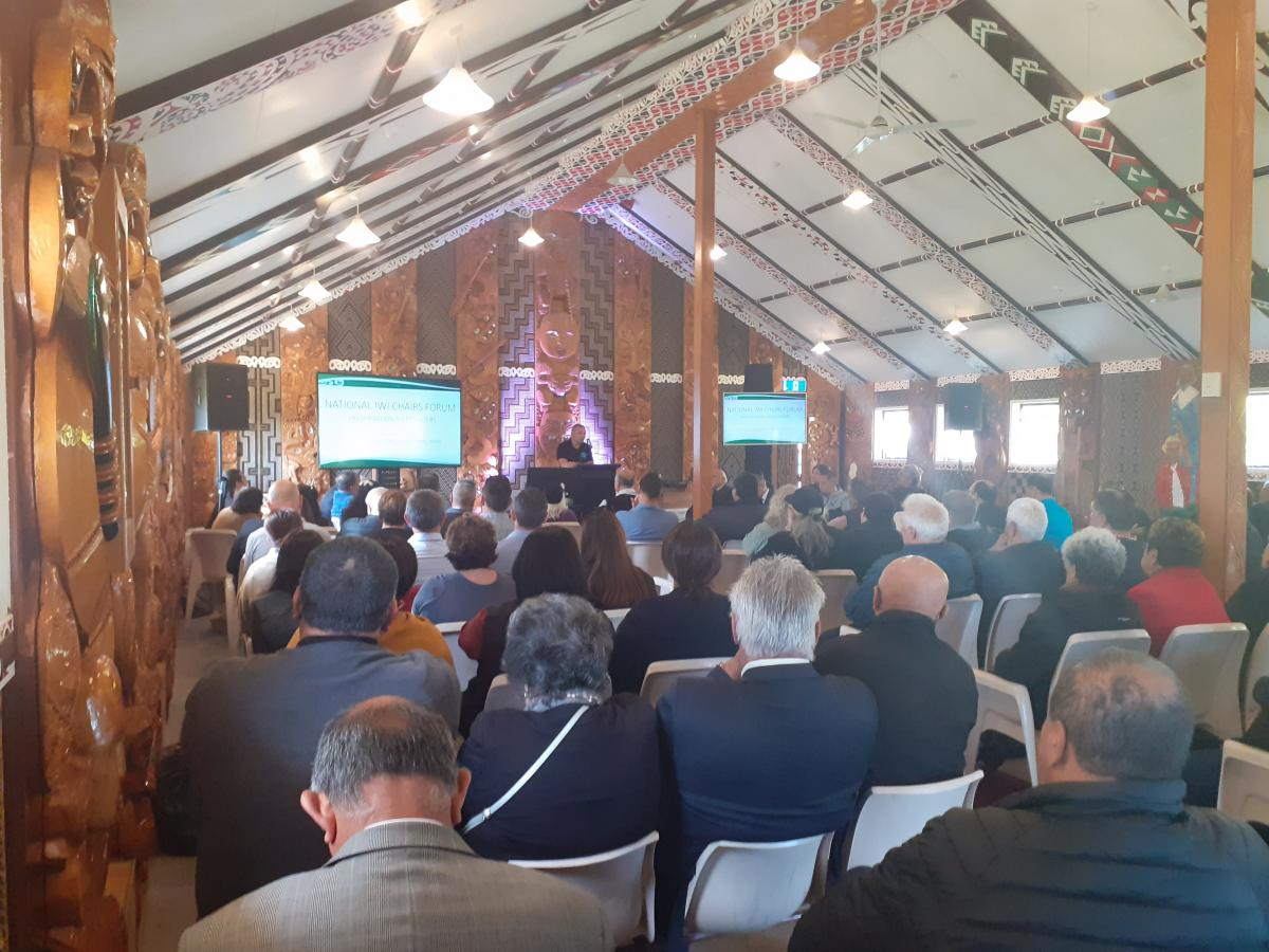 National Iwi Chairs Forum 2019  - Iwi Chairs