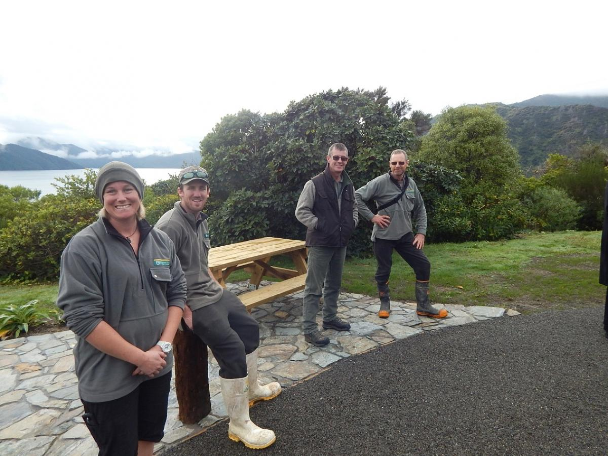 Photo Gallery  - DOC Team, Karaka Point Upgrade_28 June 2016